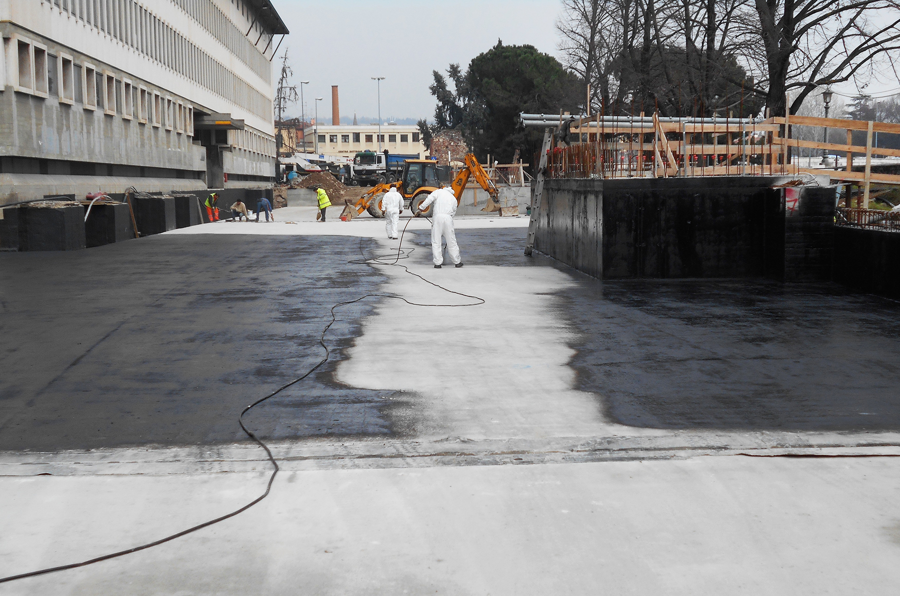 Ediltermacustica Primer prima impermeabilizzazione copertura parcheggi interrati
