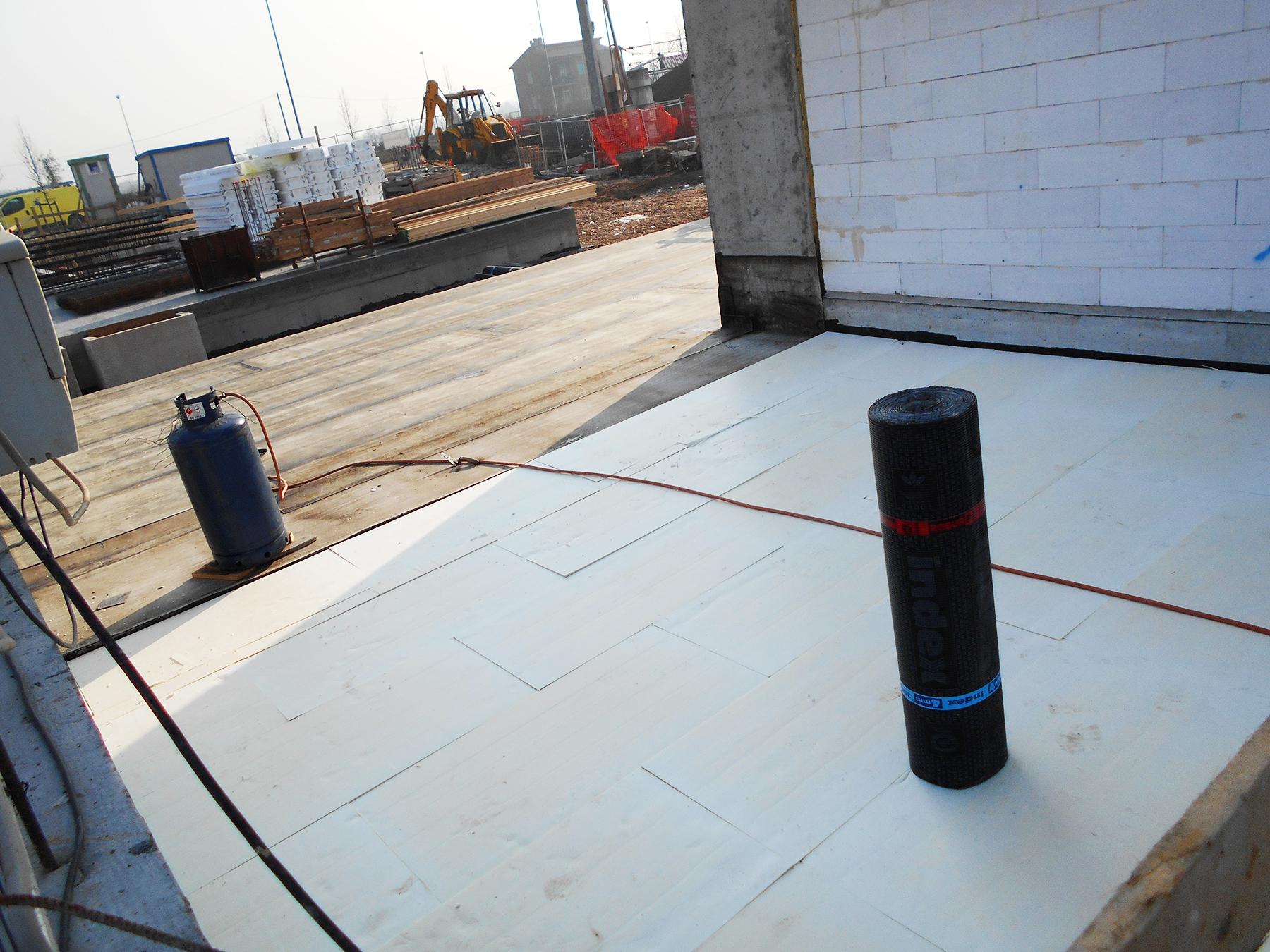 Ediltermacustica coibentazione ed impermeabilizzazione terrazza
