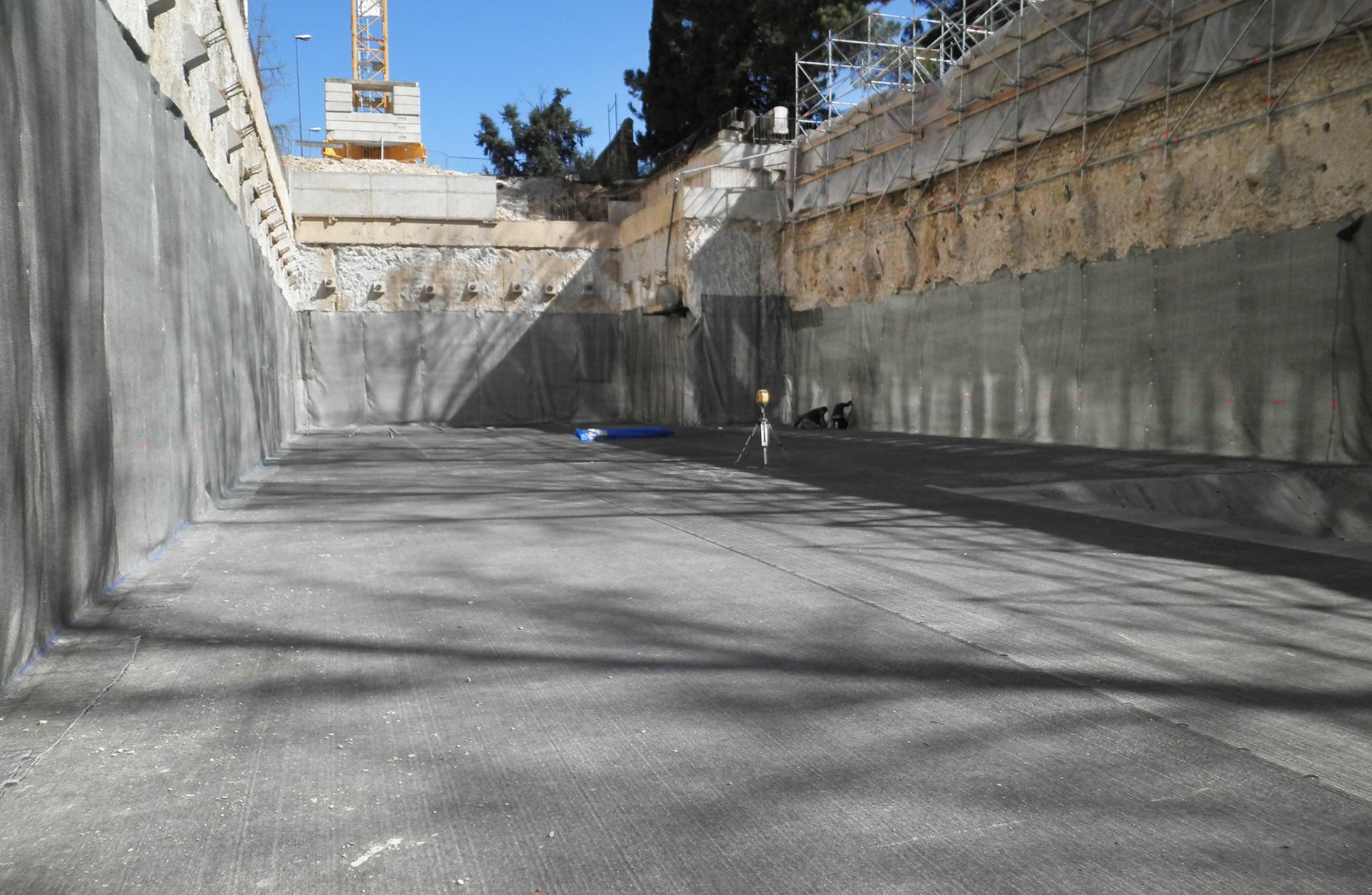 Ediltermacustica impermeabilizzazione platea e pareti con teli bentonitici